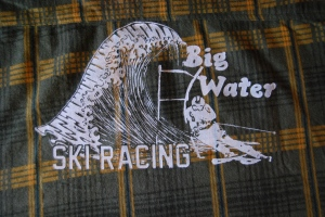 Custom flannels for the Big Water Ski Team in the Marquette Mountain Adult Race League